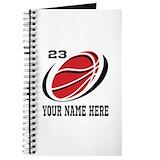Basketball Journals & Spiral Notebooks