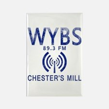 WYBS Radio Under the Do Rectangle Magnet (10 pack)