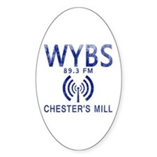 WYBS Radio Under the Dome Decal