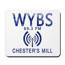 WYBS Radio Under the Dome Mousepad