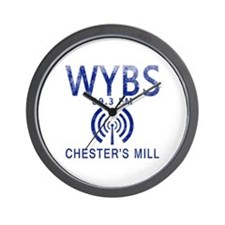 WYBS Radio Under the Dome Wall Clock