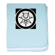 SIGIL OF THE GREAT BEAST baby blanket