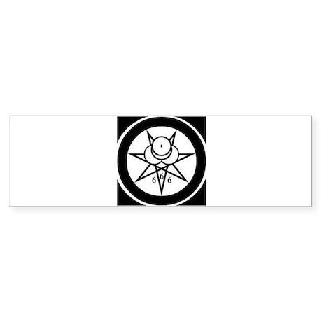 SIGIL OF THE GREAT BEAST Sticker (Bumper)