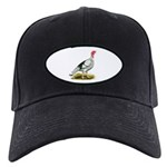 Royal Palm Hen Turkey Black Cap