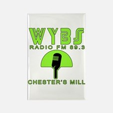 WYBS FM Under the Dome Rectangle Magnet (10 pack)