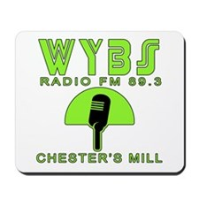 WYBS FM Under the Dome Mousepad
