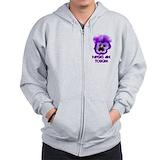 Autism sweatshirts Zip Hoodie