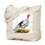Royal Palm Hen Turkey Tote Bag