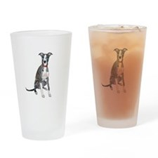 Whippet #1 Drinking Glass
