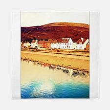 Scottish Coastal Village 1 Queen Duvet