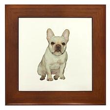 French Bulldog (#1) Framed Tile