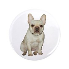 "French Bulldog (#1) 3.5"" Button"