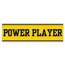 Power Player 1.0 Bumper Bumper Sticker