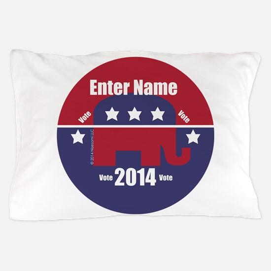 Customizable With Your Candidates Name Pillow Case