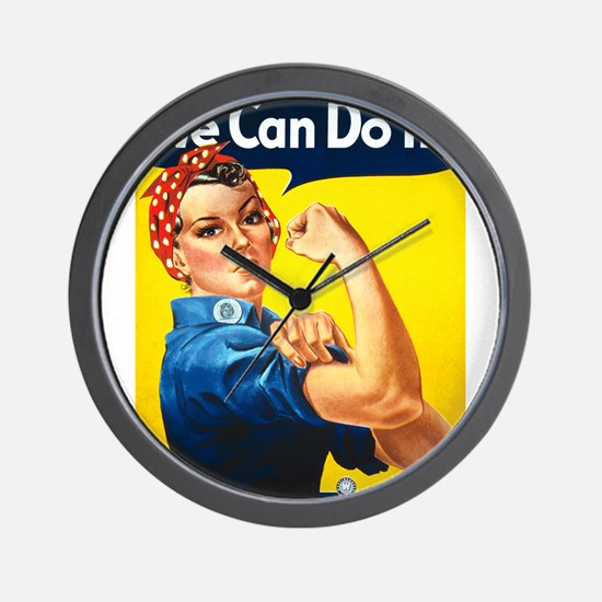We Can Do It, Rosie the Riveter Wall Clock