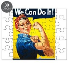 We Can Do It, Rosie the Riveter Puzzle
