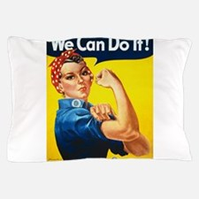 We Can Do It, Rosie the Riveter Pillow Case