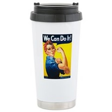 We Can Do It, Rosie the Riveter Travel Mug
