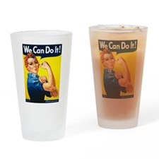 We Can Do It, Rosie the Riveter Drinking Glass