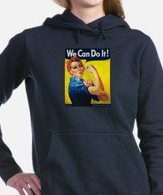 We Can Do It, Rosie the Riveter Hooded Sweatshirt