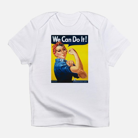 We Can Do It, Rosie the Riveter Infant T-Shirt
