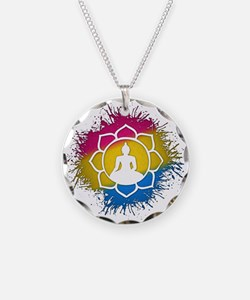 Pansexual Pride Buddhist Lot Necklace