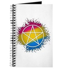 Pansexual Pride Pentacle Journal