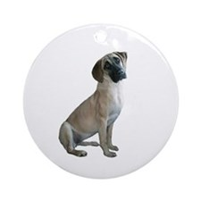 Black Mouth Cur #1 Ornament (Round)