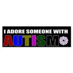 autism adoration Bumper Sticker