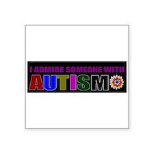 admiring autistic child Sticker