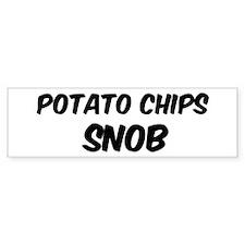 Potato Chips Bumper Bumper Sticker
