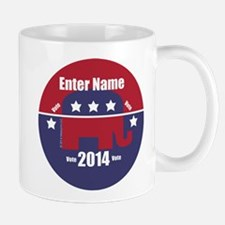 Customizable With Your Candidates Name Mugs