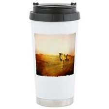 Desert Camels 3 Travel Mug