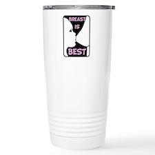 Breast is Best Travel Coffee Mug