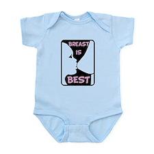 Breast is Best Infant Bodysuit