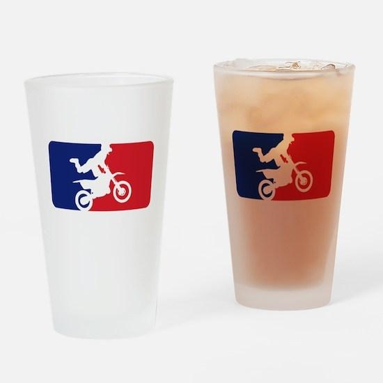 Major League Motocross Drinking Glass