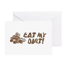 ATV Eat My Dirt Greeting Card
