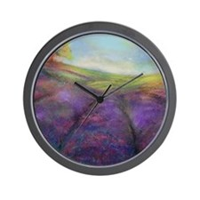 Field of Lavender Wall Clock