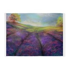 Field of Lavender 5'x7'Area Rug