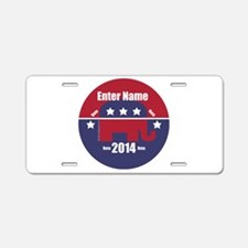 Customizable With Your Candidates Name Aluminum Li