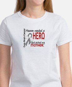 Brain Cancer Heaven Needed Hero 1. Tee