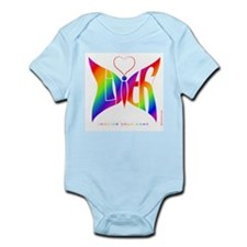 Lilith Rainbow Butterfly Infant Bodysuit