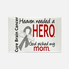 Brain Cancer Heaven Needed Hero 1 Rectangle Magnet