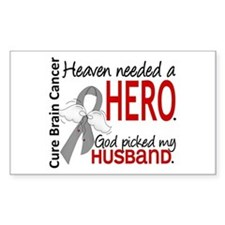 Brain Cancer Heaven Needed Her Decal