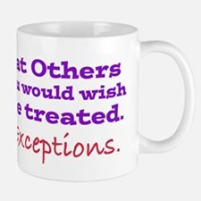 No Exceptions Mugs