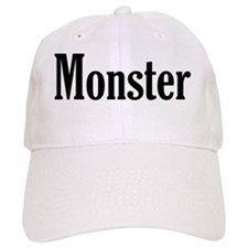 Monster black  Baseball Cap