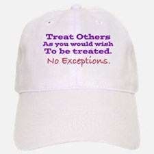 No Exceptions large type Baseball Baseball Baseball Cap