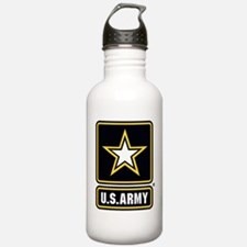 US Army Gold Star Logo Water Bottle