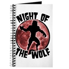 Night of the Wolf Red Journal