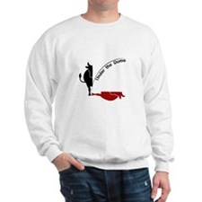 Under the Dome Cow Sweatshirt